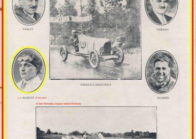 1931 23-25 05 Bol d'Or St Germain (les 24 h. 1 seul pilote). 1er Catégorie Sport, C.A. Martin Amilcar MCO GH n° 103, 413 tours soit, 1726 km à 71 km-h de moy. 8