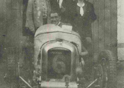 1931 30 08 GP de France, Autodrome de Linas-Montlhéry, C.A. Martin, 1er de Cat. Amilcar MCO GH. 1