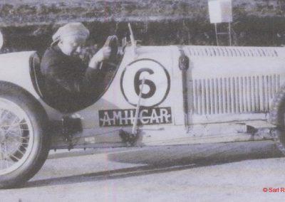 1931 30 08 GP de France, Autodrome de Linas-Montlhéry, C.A. Martin, 1er de Cat. Amilcar MCO GH. 3