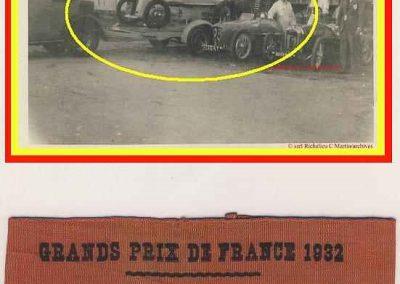 1932 01 10 GP de France. Engagement par C.A. Martin de 3 Amilcar. 1er de Cat. C.A. Martin Amilcar MCO GH n°46, puis, Bodoignet et Robail. 1_
