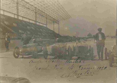 1932 01 10 GP de France. Engagements Autodrome de Linas-Montlhéry, par C.A. Martin des 3 Amilcar. 1er de Cat. C.A. Martin Amilcar MCO GH n°46, puis, Bodoignet et Robail. 2_