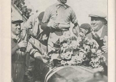 1932 03 07 GP ACF Nuvolari 1er Alfa-Roméo, 6ème Williams-Bugatti. 1