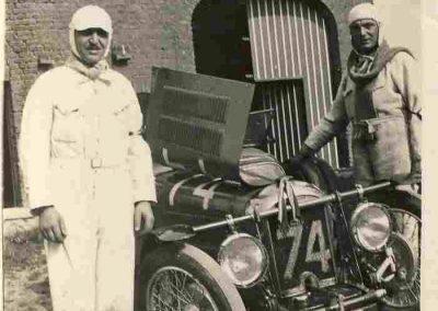1932 09-10 07 GP de 24 heures, Circuit de Spa-Francorchamps. C.A. Martin-Bodoignet, Amilcar 6 cyl., n°74, non classé après 18 heures parcourues et 1er à la Coupe du Roi. Robail n°80. 2