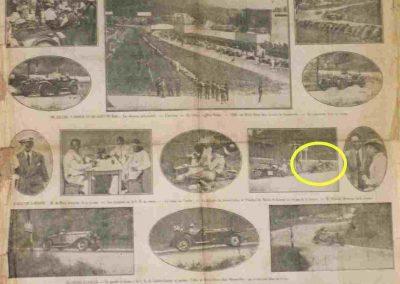 1932 09-10 07 GP de 24 heures, Circuit de Spa-Francorchamps. C.A. Martin-Bodoignet, Amilcar 6 cyl., n°74, non classé après 18 heures parcourues et 1er à la Coupe du Roi. Robail n°80. 4