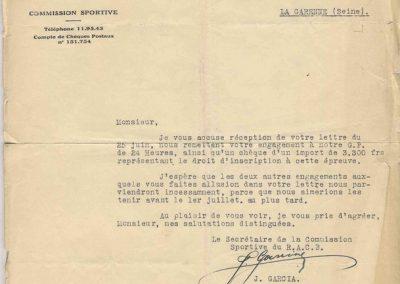 1932 09-10 07 GP de 24 heures, Circuit de Spa-Francorchamps. C.A. Martin-Bodoignet, Amilcar 6 cyl., n°74, non classé après 18 heures parcourues et 1er à la Coupe du Roi. Robail n°80. 7