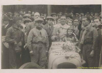 1932 14-15 05 Bol d'Or, 1er Cat. Course Amilcar C.A. Martin MCO GH, 2ème Bodoignet, 5ème Raph, 2ème des 500 M-Robail. 25