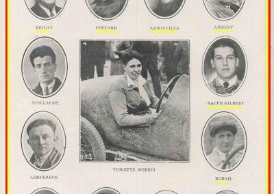 1932 14-15 05 Bol d'Or, 1er Cat. Course Amilcar C.A. Martin MCO GH, 2ème Bodoignet, 5ème Raph, 2ème des 500 M-Robail. 8