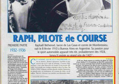 1932 14 15 16 05 Bol d'Or C.A. Martin 1er Cat. Course Amilcar MCO GH n°46, 2ème Bodoignet n°72, 5ème Raph n°47, Poiré 3ème Sport n°18 sur 6 cyl. Amilcar usine et Martin-Robail n°36. 13