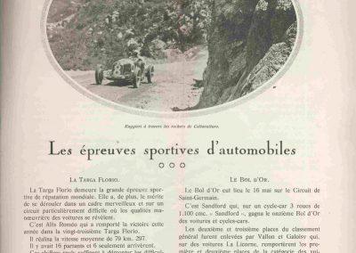 1932 14 15 16 05 Bol d'Or C.A. Martin 1er Cat. Course Amilcar MCO GH n°46, 2ème Bodoignet n°72, 5ème Raph n°47, Poiré 3ème Sport n°18 sur 6 cyl. Amilcar usine et Martin-Robail n°36. 14