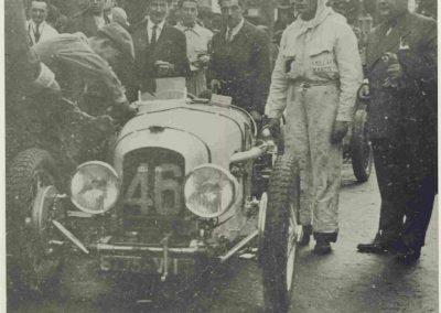 1932 14 15 16 05 Bol d'Or C.A. Martin 1er Cat. Course Amilcar MCO GH n°46, 2ème Bodoignet n°72, 5ème Raph n°47, Poiré 3ème Sport n°18 sur 6 cyl. Amilcar usine et Martin-Robail n°36. 3