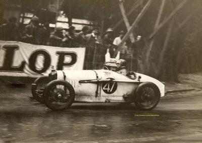 1932 14 15 16 05 Bol d'Or C.A. Martin 1er Cat. MCO GH n°46, 2ème Bodoignet n°72, 5ème Raph n°47, Poiré 3ème Sport n°18 sur 6 cyl. Amilcar usine et Martin-Robail n°36. 10