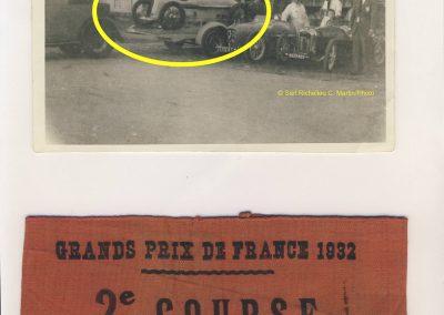 1932 17 09 GP France les 2 MCO 1100 et 1500cc des Records du Monde (entre autres) de C.A. Martin au G.P. de France. 2