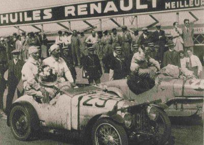 1932 18-19 06 G.P. d'Endursance de 24 heures au Mans, C.A. Martin Amilcar 6 cyl.-4, n°29, 1er de Cat. et 8ème au général, devant Cabantous-Salmson 9ème et dernier sur 33 engagés. 4-2