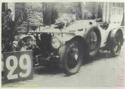 1932 18-19 06 G.P. d'Endursance de 24 heures au Mans, C.A. Martin Amilcar 6 cyl.-4, n°29, 1er de Cat. et 8ème au général, devant Cabantous-Salmson 9ème et dernier sur 33 engagés. 8