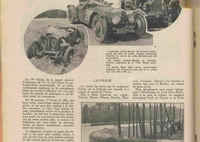 1932 18-19 06, les 24 heures du Mans, C.A. Martin Amilcar 6 cyl.-4, n°29, 1er de Catégorie et 8ème au général, devant G. Cabantous Salmson 9ème et dernier sur 25 partants. 16