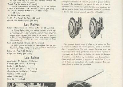 1933 01-02 07 GP (le 10ème) de 24 h. Circuit de Spa-Francorchamps, C.A. Martin, Amilcar 6cyl.-4, 1er Cat. 1100, de Garvardie et Duray, 2090 km, 19ème au Clas. général. 12