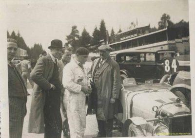 1933 01-02 07 GP (le 10ème) de 24 h. Circuit de Spa-Francorchamps, C.A. Martin, Amilcar 6cyl.-4, 1er Cat. 1100, de Garvardie et Duray, 2090 km, 19ème au Clas. général. 5