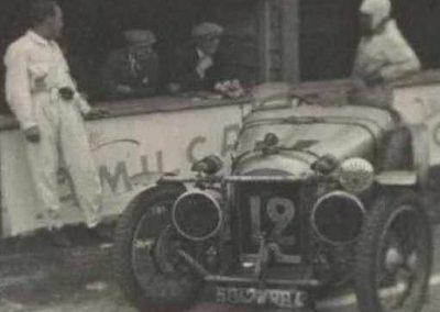 1933 01-02 07 GP (le 10ème) de 24 h. Circuit de Spa-Francorchamps, C.A. Martin, Amilcar 6cyl.-4, 1er Cat. 1100, de Garvardie et Duray, 2090 km, 19ème au Clas. général. 7