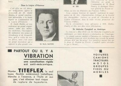 1933 -- 01 Remise des Croix de la Légion d'Honneur à Mrs Sée, Chevalier, Dautry, et E. Mathis, Commandeur. 1