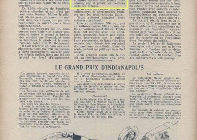 1933 03-05 06, Bol d'Or, 1er de Gavardie Amilcar MCO GH. Devant mon père (C.A. Martin) un accident l'oblige à grimper sur le bas côté, l'Amilcar se retourne mon père dessous. 11