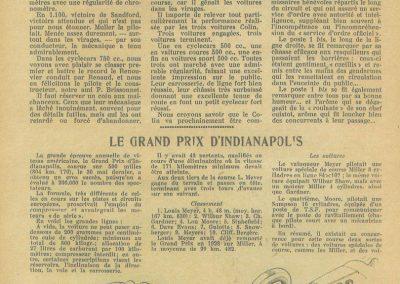 1933 05 06 Bol d'Or (12ème) 1er au clas. général, de Gavardie Amilcar MCO GH n°31, 1830 km. C.A. Martin, Amilcar 6cyl.-4, n°28 ab. à cause d'un accident produit devant lui, la nuit. 18