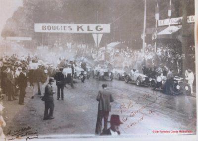 1933 05 06 Bol d'Or (12ème) 1er au clas. général, de Gavardie Amilcar MCO GH n°31, 1830 km. ab. C.A. Martin, n°28 à cause d'un accident produit devant lui, la nuit. 0