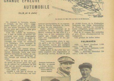 1933 05 06 Bol d'Or Amilcar Blot, Biolay, de Gavardie, Martin, Bodoignet, Poiré, Poulain, Raph, Druck, 10