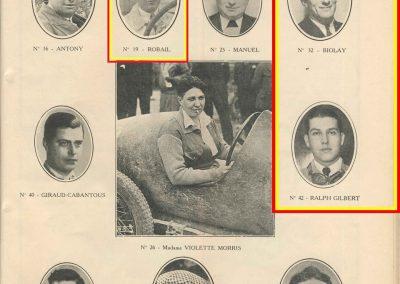 1933 05 06 Bol d'Or Amilcar Blot, Biolay, de Gavardie, Martin, Bodoignet, Poiré, Poulain, Raph, Druck, 4