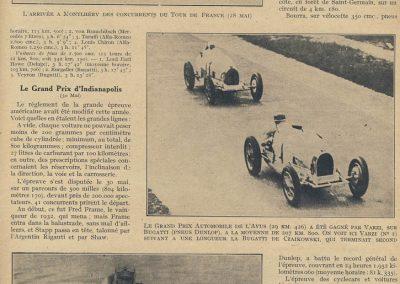 1933 05 06 Bol d'Or (le 12ème) 1er de Gavardie 1833 km Amilcar-Martin Spécial. 1