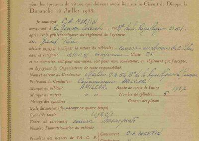 1933 16 07 Circuit de Dieppe, Williams, Chiron, et Bouriat (Bugatti) Lord Howe (Delage) à Maison Blanche. 2_