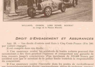 1933 16 07 Circuit de Dieppe, Williams, Chiron, et Bouriat (Bugatti) Lord Howe (Delage) à Maison Blanche. 3