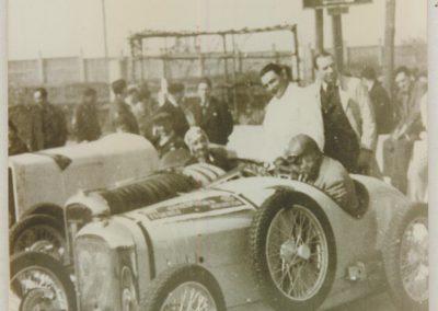 1933 17 09 GP de France, ACIF et MCF. Montlhéry, Poiré Amilcar n° 27, C. A Martin 1er de Cat. n°12. 4