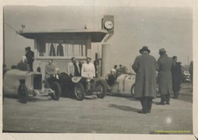 1933 17 09 GP de France, ACIF et MCF. Montlhéry, Raph Amilcar n° 27, C. A Martin 1er de Cat. n°12. 2