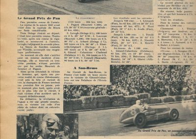 1933 17 09 GP de France, ACIF et MCF. Montlhéry, Raph Amilcar n° 27, C. A Martin 1er de Cat. n°12. 3