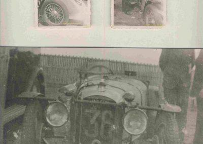 1933 17-18 06 GP d'Endur. 24 h. du Mans, 12ème, J.H. de Gavardie Amilcar-Martin 6 cyl, 1100cc, 2005 km n°34. C.A. Martin Amilcar c.o. n° 36 non classé comme le Prince de Roumanie-Duesenberg. 7