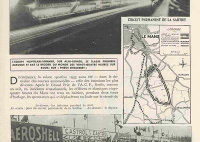 1933 17 18 06 GP d'Endurance 24 h. du Mans, 12ème, J.H. de Gavardie Amilcar-Martin 6 cyl, 1100cc, 2005 km n°34. C.A. Martin Amilcar n°36 non classé (comme le Prince de Roumanie sur Duesenberg). 0