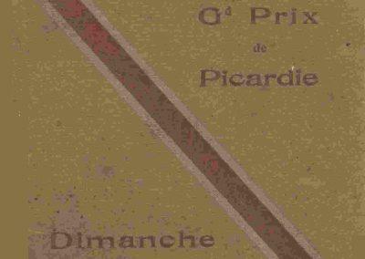 1933 21 05 GP de Picardie, Circuit de Péronne. Amilcar C.A. Martin 4ème au général n°53, Amilcar C.A. Martin, Raph 5ème de cat. n°47. 1