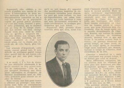 1933 25 09 Côte d'Argenteuil, Amilcar C.6. 1er Toutes catégories. 1