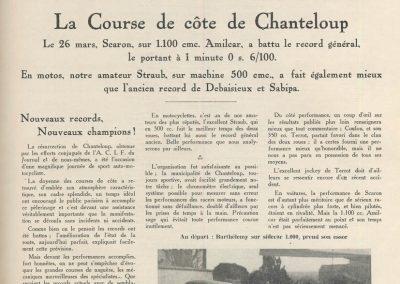 1933 26 03 Côte de Chanteloup 1er Scaron 1'00''6-100 Amilcar C.6. 1