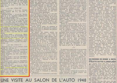 1933 5-6 12 Records à Montlhéry des 24 heures, Amilcar, J. et H. de Gavardie et Duray Equipe C.A. Martin, 3.285,643 km à 136,902 km-h .1
