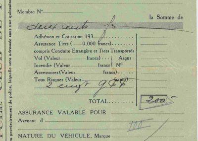 1934 01 09 GP de France. Amilcar 4ème C.A. Martin, Pousse 2ème et Poiré 10ème. 1