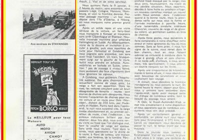 1934 -- 01 Souvenirs de Vernet-Porthault du Rallye de Monte-Carlo de 1934 par Vernet et Porthault. 1