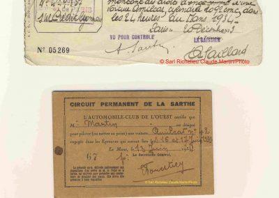 1934 17-18 06. les 24 h. du Mans. Amilcar C.A. Martin-Pousse 20ème, n°42, 2094km, de Gavardie-Duray 14ème n°32, 2271, Poiré-Robail 22ème, 2008. ab Boursin-Nadeau. 10