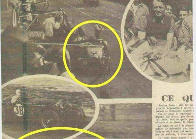 1934 17-18 06. les 24 h. du Mans. Amilcar C.A. Martin-Pousse 20ème, n°42, 2094km, de Gavardie-Duray 14ème n°32, 2271, Poiré-Robail 22ème, 2008. ab Boursin-Nadeau. 11