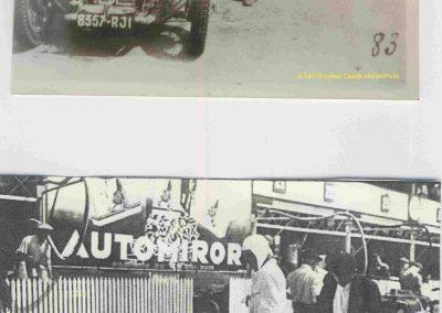1934 17-18 06. les 24 h. du Mans. Amilcar C.A. Martin-Pousse 20ème, n°42, 2094km, de Gavardie-Duray 14ème n°32, 2271, Poiré-Robail 22ème, 2008. ab Boursin-Nadeau. 3