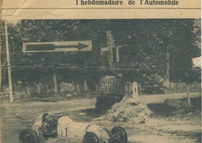 1934 19-21 05 Bol d'Or Saint-Germain-en-Laye. Amilcar de C.A. Martin n°42 ab., Poulain n°56 et Poiré n°67. 2