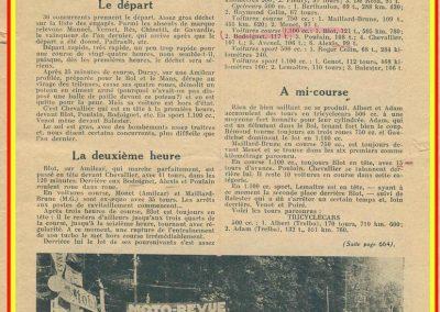 1934 19-21 05 Bol d'Or Saint-Germain-en-Laye. Amilcar de C.A. Martin n°42 ab., Poulain n°56 et Poiré n°67. 4