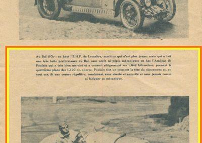 1934 19-21 05 Bol d'Or Saint-Germain-en-Laye. Amilcar de C.A. Martin n°42 ab., Poulain n°56 et Poiré n°67. 5