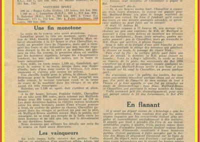 1934 19-21 05 Bol d'Or Saint-Germain-en-Laye. Amilcar de C.A. Martin n°42 ab., Poulain n°56 et Poiré n°67. 7