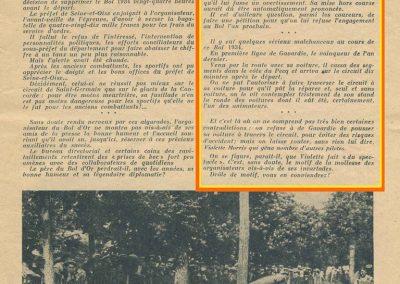 1934 19-21 05 Bol d'Or Saint-Germain-en-Laye. Amilcar de C.A. Martin n°42 ab., Poulain n°56 et Poiré n°67. 9